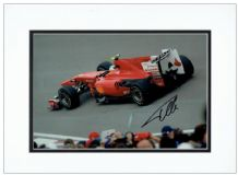 Fernando Alonso Autograph Signed Photo Display